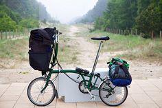 Brompton Folding Bike 3 week European tour
