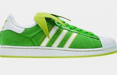 Kermit the Frog Adidas shoes!!!!