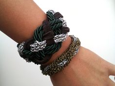 DIY Braided Chain Bracelet 3]