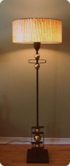 50'S LAMP - LOVE the accents and the shade!