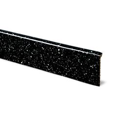 12mm Astral Black Laminate Upstand, Square Edge   Departments   DIY at B&Q