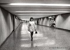 Una estación del metro en 1969.