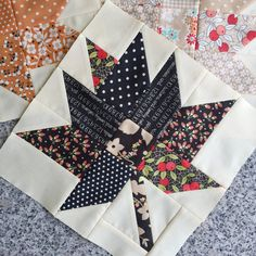 My Maple Charm Quilt – Monday Morning Designs My Maple Charm quilt is finished just in time for fall, and it's been a long time coming since I cut fabric in March 2018 and made blocks in February Shortly after that, we sold our hou… Fall Quilts, Scrappy Quilts, Mini Quilts, Quilting Tutorials, Quilting Projects, Quilting Designs, Patchwork Designs, Patchwork Fabric, Patchwork Patterns