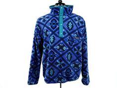 Patagonia Fleece Jacket Navy Blue Fleece Jacket by creepandsew