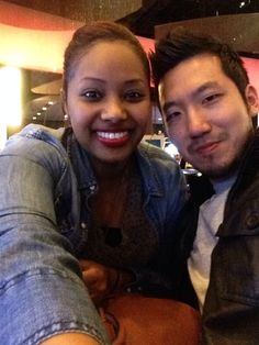 erigodess:I'm Eritrean and he's South Korean. We're such a rare couple in my culture, but we make it work and that's all that matters