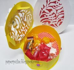 Paper Pulse Blog Spot: Easter Treat Containers