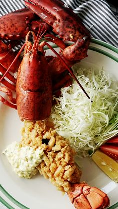If you like popcorn shrimp, you'll love this ridiculously crispy lobster tail.