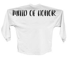 Maid of Honor Spirit Jersey