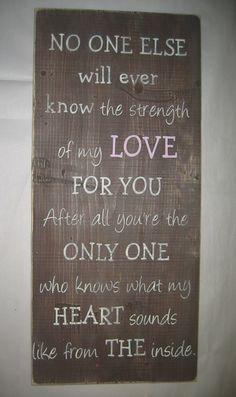 Vertical Strength of my LOVE