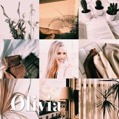 Olivia // name aesthetic