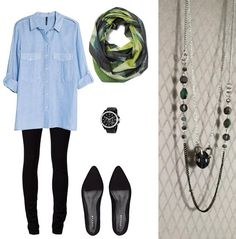 Pretty Much, Layered Necklace, Handmade Necklaces, Button Up Shirts, Comfy, Leggings, Facebook, How To Wear, Outfits