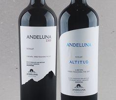 O merlot na terra do Malbed: Andeluna Merlot: 1300 e Altitud Reserva #vinho #mendoza #merlot #vinhoargentino