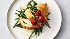 Flaky pastry pesto chicken Serves/time 4 people / 30 mins NUTRITION PER SERVINGRed: 618kcal, 34.8g fat (18g saturated), 36.3g protein, 40.4g carbs, 7.1g sugar, 1.7g salt, 4.9g fibre01 Heat the oven...