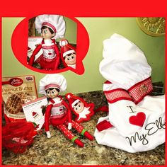 elf on the shelf ideas, Creative & unique elf ideas, Chef baking time - check out her other ideas!