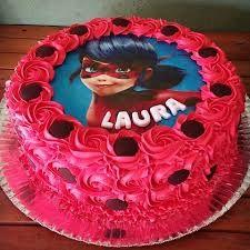 Resultado de imagem para bolo decorado da ladybug