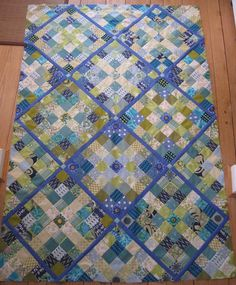 Square Clamshell from Kaffe Fassett's Museum Quilts