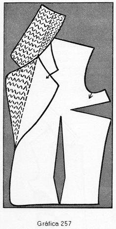 Knit Wrap Pattern, Bra Pattern, Jacket Pattern, Skirt Patterns Sewing, Coat Patterns, Clothing Patterns, Sewing Collars, Sewing Blouses, Donia