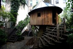 casa arbol redonda estupendo diseño