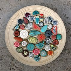 pattern - line - zentangle - nature - painted stones