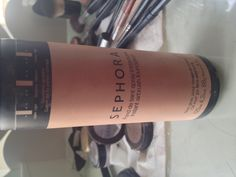 Sephora spray foundation. Airbrush style, oil free, adjustable nozzle for low/med/high coverages, matte finish. $20. THE BEST FOUNDATION I'VE EVER USED AS A PROFESSIONAL MAKEUP ARTIST.