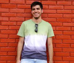 Tingimento ombré em camiseta - Tutoriais - Corantes Guarany