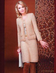 Шьем короткий пиджак от Шанель: выкройка-основа