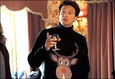 Bridget Jones' Diary. I love this movie and Mark Darcy's Reindeer Jumper. ;)