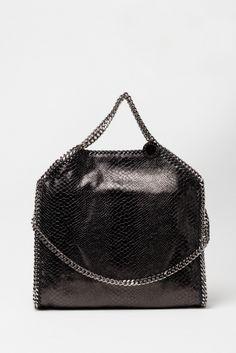 #falabellabag #black #snake #shopping #newcollection