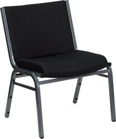 Pro-Tough 1000 lb. Big and Tall Extra Wide Fabric Stack Chair