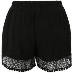 Womens Casual Boho Elastic Waist Loose Beach Summer Shorts