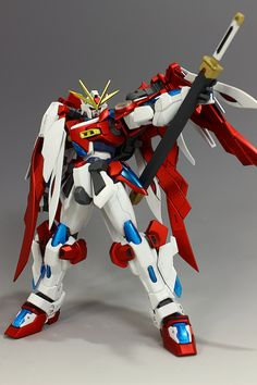 "Custom Build: HGBF 1/144 Kamiki Burning Gundam ""World Champ"" - Gundam Kits Collection News and Reviews"
