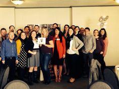 Presentación del Plan al Club Activo 20-30 de Eugene - Presenting the Plan to the Active 20-30 Eugene Club