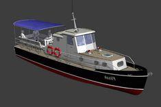 прогулочный катер 11 метров Liveaboard Boats, Rowing, Ship, Model, Design, Scale Model, Ships, Design Comics
