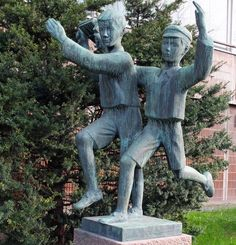 Savings Bank, Old City, Public Art, Art And Architecture, Finland, Garden Sculpture, Students, History, Gallery