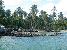 Ilha de Santa Rita, Lagoa do Mundaú, Maceió.