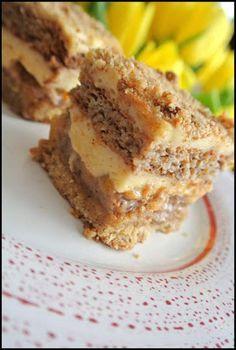 Polish Desserts, Polish Recipes, No Bake Desserts, Pastry Recipes, Cake Recipes, Cooking Recipes, Sweets Cake, Cupcake Cakes, Other Recipes