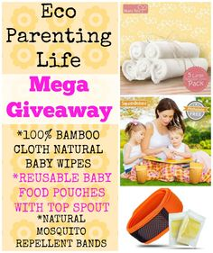 Giveaway Center is the premier online hotspot for finding and listing giveaways. Natural Baby Wipes, Baby Giveaways, Natural Mosquito Repellant, Mega Pack, Felt Hearts, Baby Food Recipes, Parenting, Recipes For Baby Food, Baby Favors