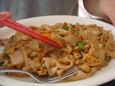 Thai Pepper - Hollywood, CA, Pad Thai with Chicken