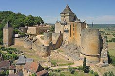 Château de Castelnaud - Musée de la Guerre au Moyen Age , Perigord noir, Dordogne