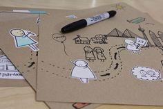 Creative Hand-Drawn Business Presentation