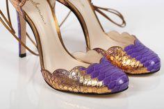 Stunning Python Guilhermia heels in stock @www.classy-avenue.com #guilhermina #luxuryshoes