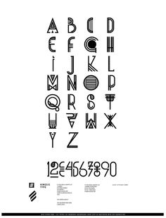 Probably not the most relevant, but still cool and reminds me of our 'bare-bones' alphabet structure  KINESIS TYPE by Luis Miguel Torres, via Behance http://www.behance.net/gallery/KINESIS-TYPE/2491963