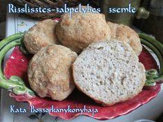 Rizslisztes-zabpelyhes zsemle (Gluténmentes)