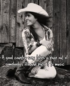 """Couldn't be more true. """"Cause they're songs about me, and who I am."""" <3"""