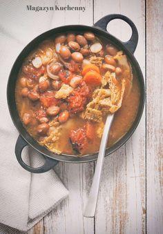 Bean, tomato and cabbage soup | Resztkowa zupa z fasoli, pomidorów i kapusty