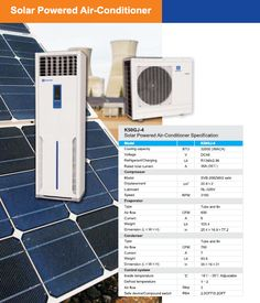 Solar panel air conditioner model is 16000 BTU cooling capacity AC, an all in one cooling solution for your home. Solar Panel Kits, Solar Panels For Home, Solar Air Conditioner, Vending Machine Business, Selling Your House, Home Appliances, Yard, Things To Sell, Landscape