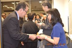 IT Literacy after finish the Seminar, had a party and exchange business card