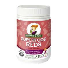 Superfood Reds blend. Good for the kids.