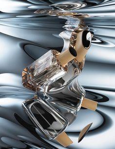 Hermes Bottle Reflections