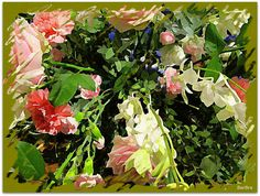 Per te io curo questi fiori, fulgido assente! Si fendono le vene di corallo della mia fucsia - ed io semino e sogno -I gerani si tingono di chiazze - umili margherite si frastagliano - dirada il cactus le spinose punte per mostrare la gola -Stilla aromi... http://ilmioblogdiprova.over-blog.it/2013/11/la-poesia-dei-fiori-.-i-fiori-nella-poesia.html